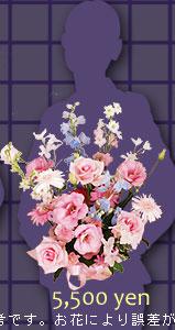 生花フラワーギフト5500