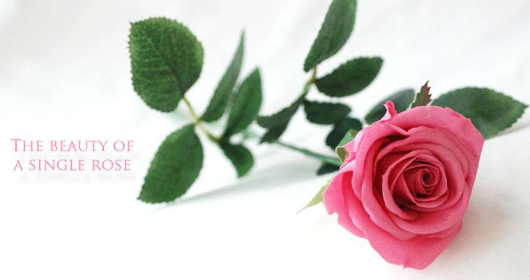 プリザーブドフラワーのバラのブーケ