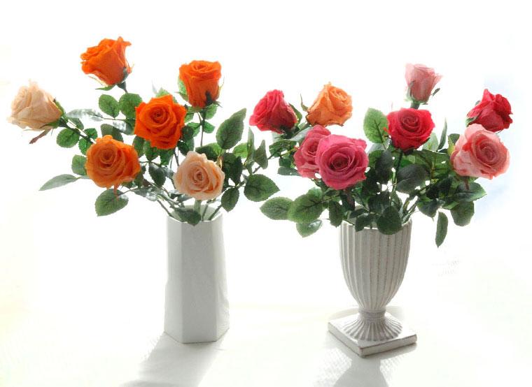 枯れない薔薇の花束
