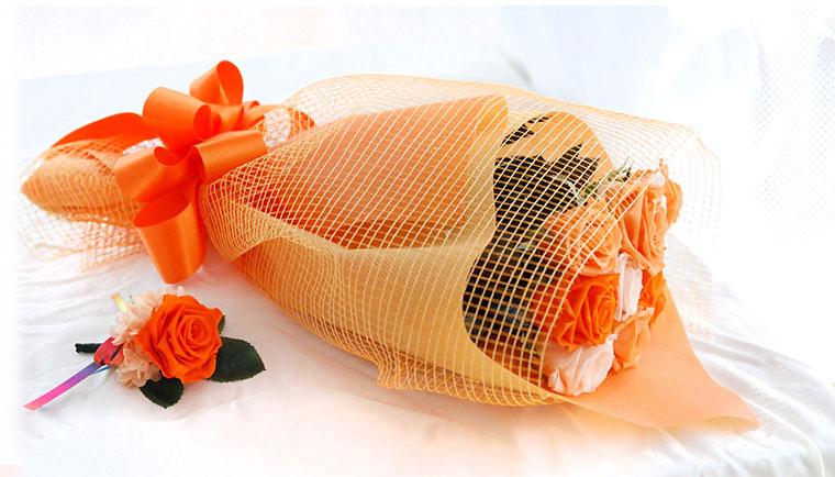 結婚式 花束贈呈