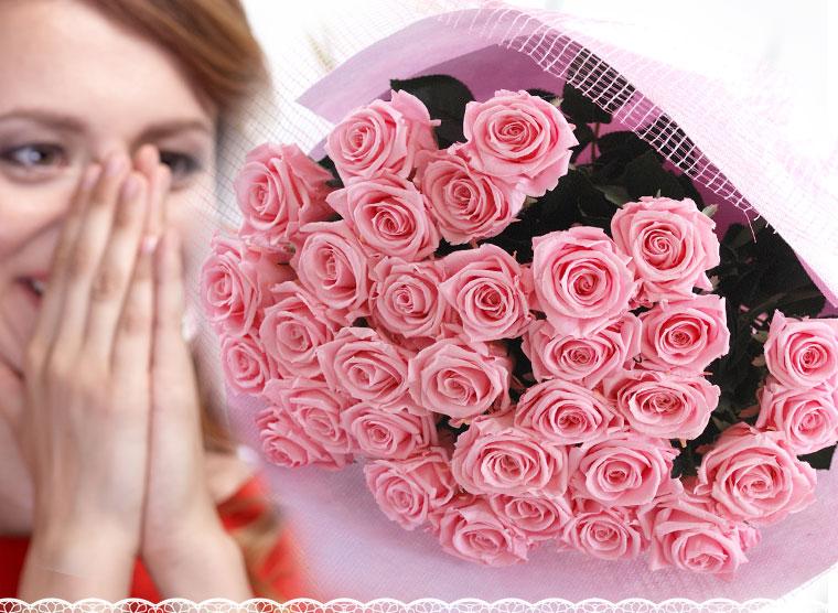 プリザーブドフラワー バラ 花束
