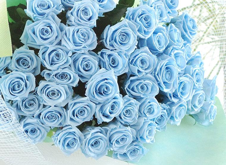 ダズンローズ ブリザードフラワー 花束